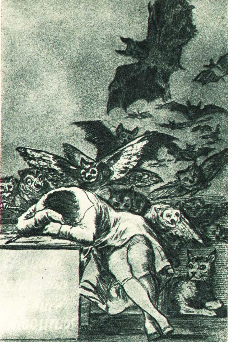 Гойя. Сон разума порождает чудовищ