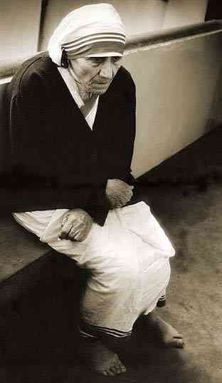 Мать Тереза. Индия. 11 декабря 2001. Фото: Алексей Воеводин. photozilla ru
