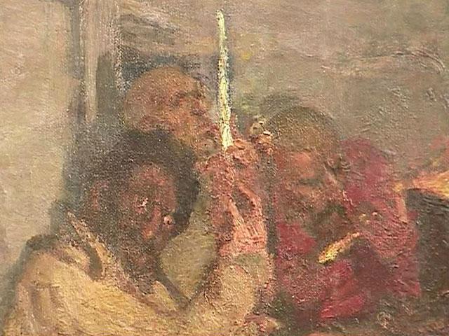 В Историческом музее выставили уникальное полотно Репина
